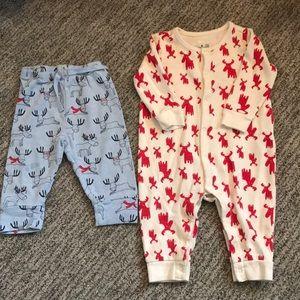 Gap Pajamas 14 Piece Holidaychristmas And Old Navy Lot